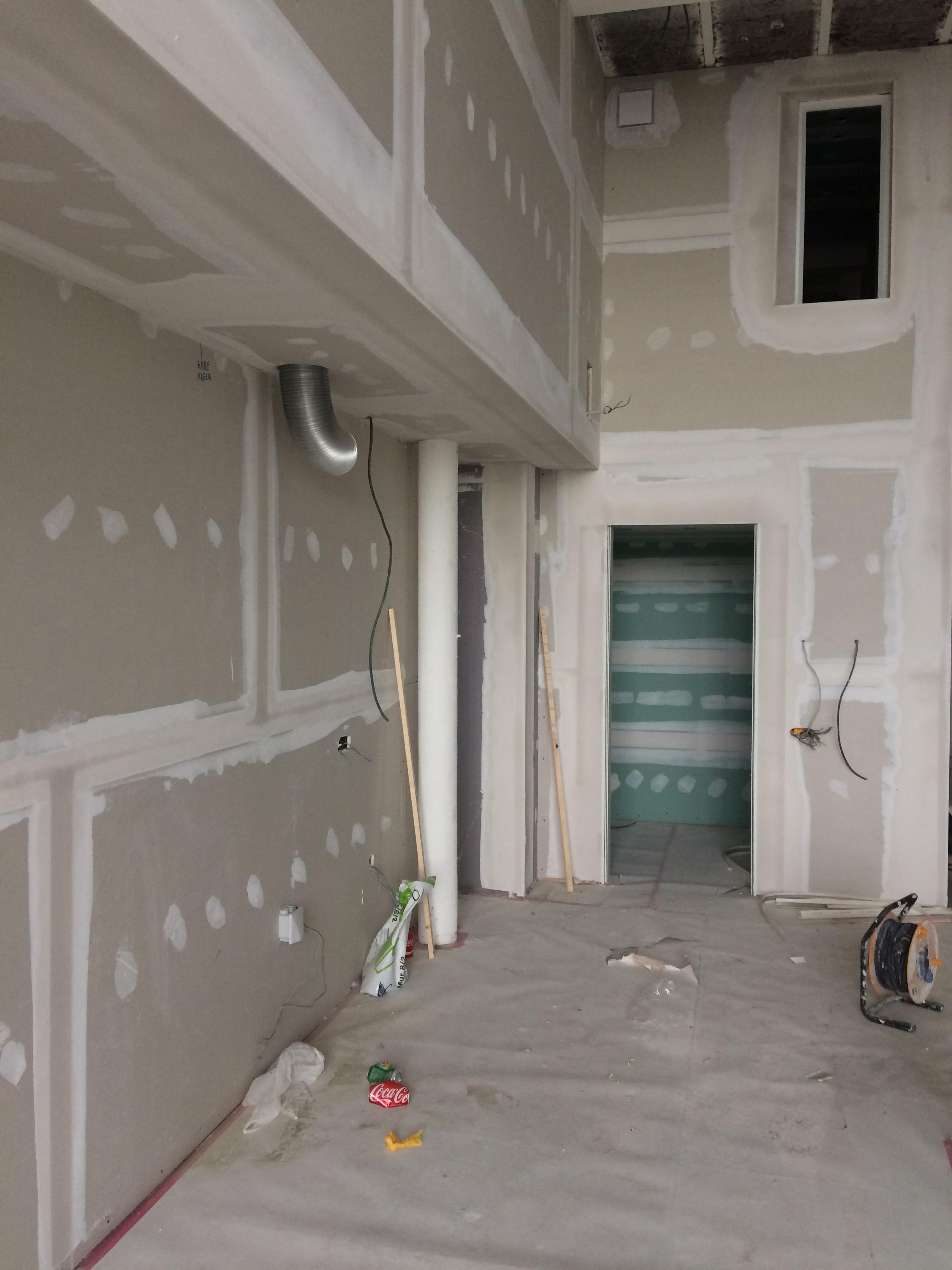 Casco loft Avelgem - West Vlaanderen-pleisterwerken ABA