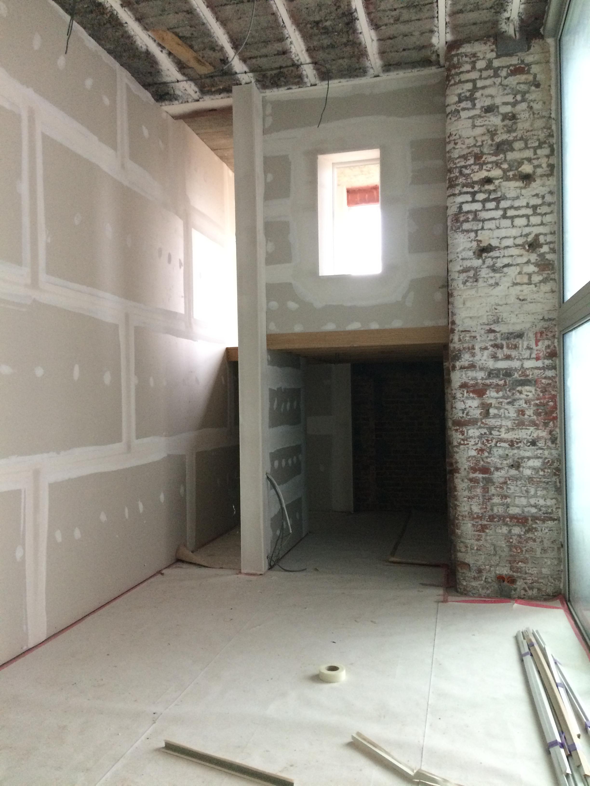 Casco loft Avelgem - West Vlaanderen - ABA pleisterwerken