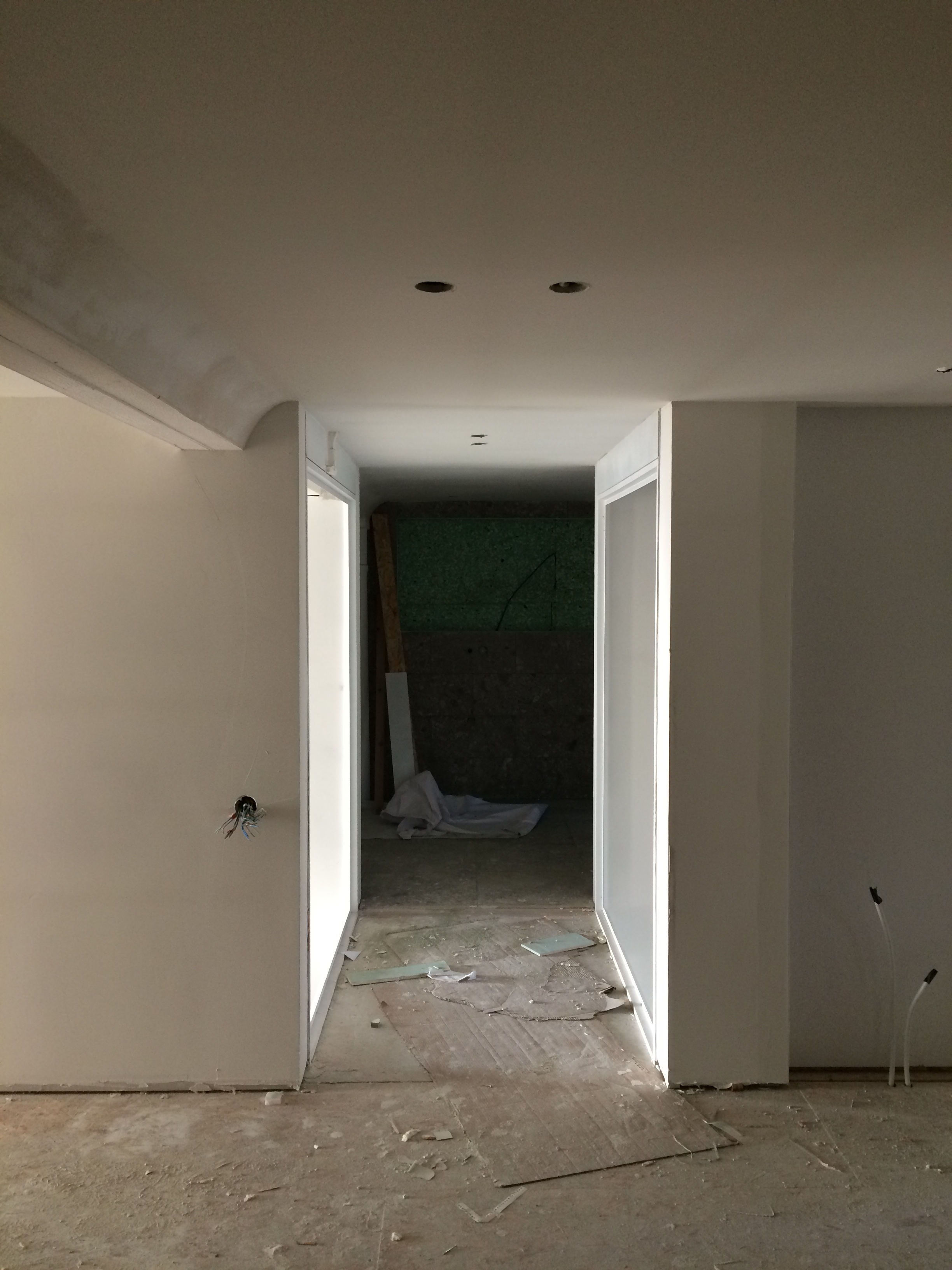 Casco loft Avelgem - West Vlaanderen - pleisterwerken